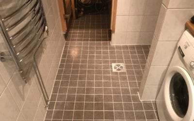 Kylpyhuoneen pesu